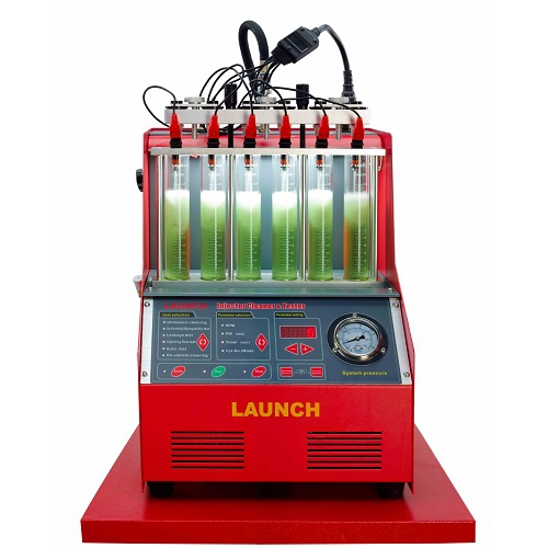 Original 110V CNC-602A CNC602A Fuel Injector Cleaner Machine& Tester - Couplers