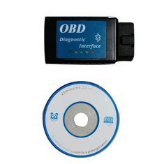 CAN BUS CD Drive EOBD OBDII Scan ELM327 Bluetooth Device