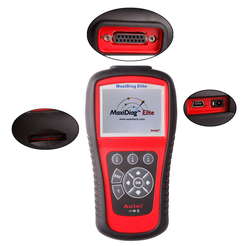 OBD2 Scanner Codes Autel Maxidiag Elite MD701 With Data Stream Function for All System Update Internet
